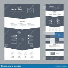 Best One Page Design One Page Website Design Template For Business Landing Page