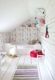 girly room wallpaper in a white tiny girls decoration game 2