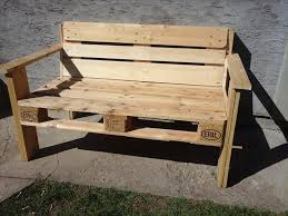 Bench Out Of Pallets - HD Wallpapers
