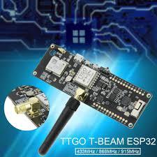<b>TTGO T</b>-<b>Beam ESP32 433 868 915Mhz</b> WiFi Wireless Bluetooth ...