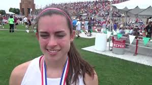 Abby Nichols after her 4:55.30/10:55.99 double in Division 2 | OHSAA State  Track and Field Championship