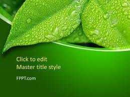 Dark Green Powerpoint Background Free Green Powerpoint Templates