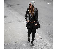 julia mateian in blanknyc vegan leather
