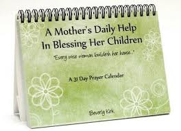 A Perpetual 31 Day Mother's Prayer Calendar. Sturdy spiral bound desk-top  stand. | eBay