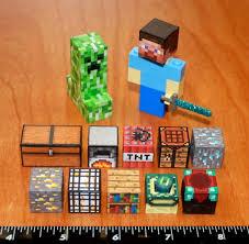 Custom Minecraft Lego Steve with Diamond Sword and Creeper plus ...