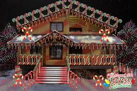 Candy Cane House Decorations The Christmas Lights House Decorator Display of the Day The 13
