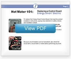 energy smart® water heater repair Whirlpool Hot Water Heater Wiring Diagram replacing the control board whirlpool hot water heater wiring diagram