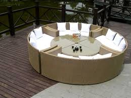 inspiring patio furniture ideas unusual unique outdoor furniture dining jpg