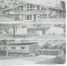 mid century modern house plans. 185 Homes MID CENTURY Modern House Plans Ranch Atomic Mod Richard Pollman Designs Mid Century E