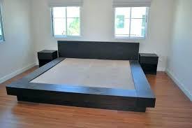 diy king platform bed frame. King Size Platform Bed Frame How To Make A Diy