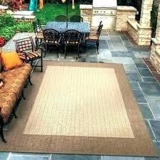 waterproof outdoor rugs rug pad best deck