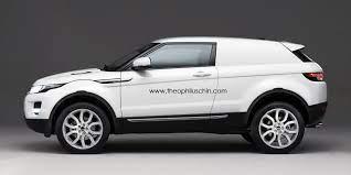 Range Rover Evoque Van Rendering Range Rover Evoque Range Rover Land Rover