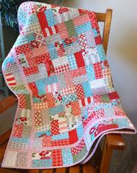 Best 25+ Jellyroll quilt patterns ideas on Pinterest | Jelly roll ... & So a jelly roll and a yard of coordinating fabric you can whip up this quilt Adamdwight.com