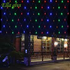 Led Net Lights 3m X 2m Us 15 62 29 Off String Lights 3m X 2m 200 Led Linkable Design Net Mesh Ideal For Indoor Outdoor Home Garden Christmas Party Wedding In Lighting