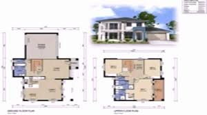 2 story house floor plans with measurements inspirational two y house floor plan with dimensions