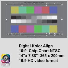 Video Camera Test Chart Chip Chart Digital Video Camera Test Chart Camera Test