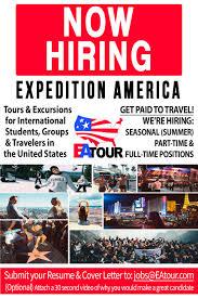 Flyer Jobs Expedition America Job Flyer Front Ea Tour Ea Tour