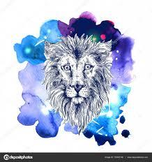 эскиз иллюстрация лев векторное изображение Margarita87 133361148