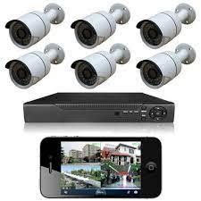 6 Kameralı Set Güvenlik Kamera Sistemi 2MP AHD DVR Gece Görüşlü Fiyatları  ve Özellikleri