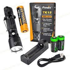 <b>Fenix TK15UE</b> — <b>Тактический фонарь</b> 1000Лм!