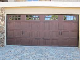 brown garage doorsGarage Door Decorative Kits 1  The Minimalist NYC