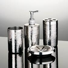 modern bathroom accessories sets. Silver Bathroom Accessories Set New Modern Accessory Sets P
