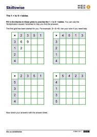 Kindergarten Multiplication Table Practice Image Collections ...