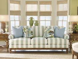 striped sofas living room furniture. Tommy Bahama Home Striped Sofa. Creative Concepts Furniture · Furnishings Living Room Sofas