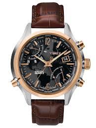 timex mens intelligent quartz world time watch t2n942 hollins timex mens intelligent quartz world time watch t2n942