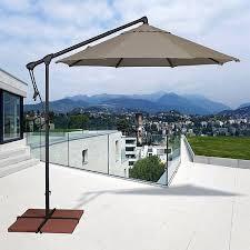 treasure garden 10 octagonal cantilever umbrella by treasure garden