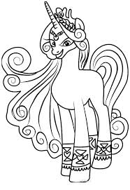My Little Pony Friendship Is Magic Coloring Pages Twilight Coloring