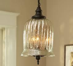 kaplan mercury glass pendant pottery barn with mercury glass pendant light fixture for desire
