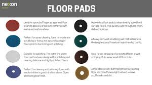 Choosing The Correct Floor Cleaning Pads Nexon Hygiene