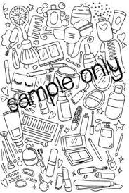 Printable Makeup Coloring Pages Archives My Localdea