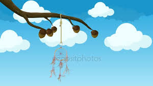 Animated Dream Catcher Animated Dreamcatcher Hanging From a Tree Branch Moving in the 41