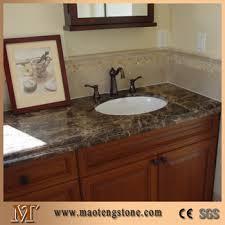 stone vanity tops. Contemporary Tops Natural Stone Vanity Tops Emperador Dark Marble Countertop Intended N