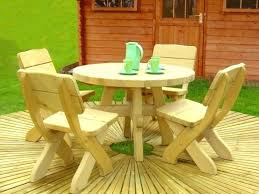 kidkraft picnic table with umbrella and benches outdoor chair set