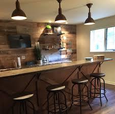 bar with granite countertops
