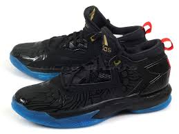 adidas basketball shoes damian lillard. unisex adidas d lillard 2 basketball shoes damian black / bright red blue f37122