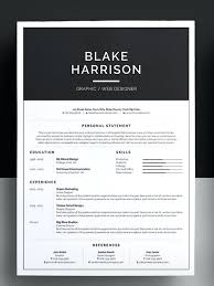 Cool Resume Templates Beauteous Creative Resume Templates Free Download Awesome Free Graphic Resume