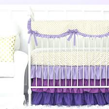 purple ruffle bedding and gold dot crib set baby purple ruffle bedding rose duvet cover set light teal