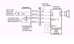 need to add external paging to toshiba strata dk280 general Valcom Paging Horn Wiring Diagram you should be able to google the install manual ValCom V-1030C Wiring
