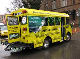 File The Steelers Bus Jpg Wikimedia Commons