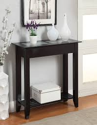 side table for hallway. Amazon.com: Convenience Concepts Carmel Hall Table, White: Kitchen \u0026 Dining Side Table For Hallway