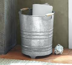 B And Q Bathroom Design Simple Bathroom Trash Can With Galvanized Pottery Barn Prepare 48 Small