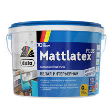 <b>Краска Dufa Retail Mattlatex</b> Plus матовая белая 10л (1002121793 ...