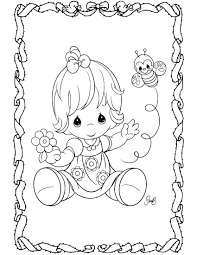 Small Picture Baby Girl Coloring Pages Miakenasnet
