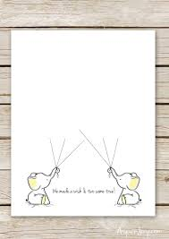 guest book template free twin elephant baby shower guest book printable aspen jay