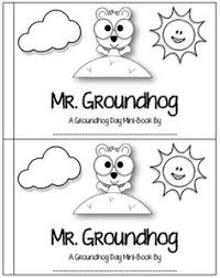 groundhog day bie from lory s page kids groundhog day  groundhog day fun mini book prediction graph and more
