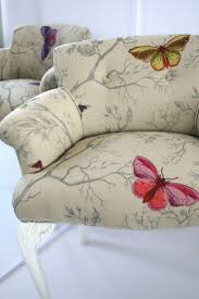 timorous beasties fabric butterflies chair upholstery fabric 2